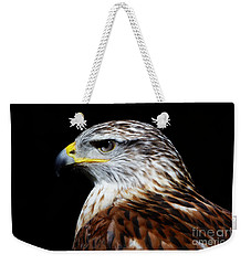 Weekender Tote Bag featuring the photograph Ferruginous Hawk by Sue Harper