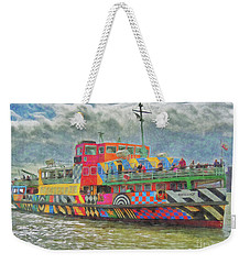 Weekender Tote Bag featuring the photograph Ferry Across The Mersey by Leigh Kemp