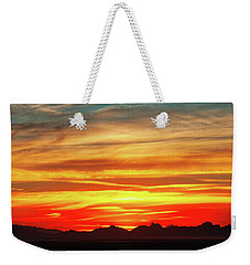 Weekender Tote Bag featuring the photograph Final Glimpses by Rick Furmanek