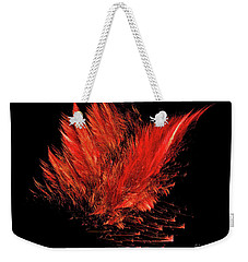 Fire Feathers Weekender Tote Bag