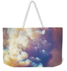 Weekender Tote Bag featuring the photograph Fire Power by Lynn Bauer
