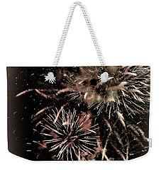 Fireworks In The Cosmos - Brainstorm Weekender Tote Bag