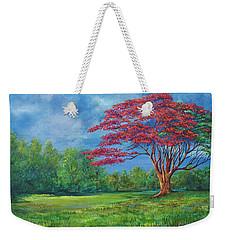 Flame Tree Weekender Tote Bag