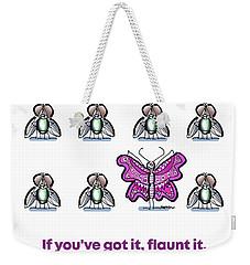 Flaunt It No. 1 Weekender Tote Bag