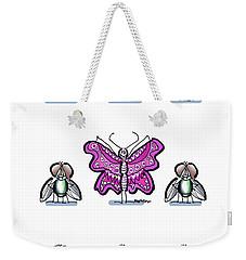 Flaunt It No. 3 Weekender Tote Bag