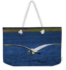 Flight Of The Egret Weekender Tote Bag