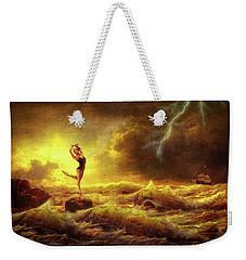 Flirting With Disaster Weekender Tote Bag