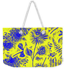 Flora And Foliage Weekender Tote Bag