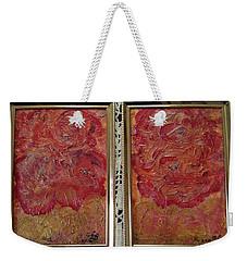 Floral Abstract 2 Weekender Tote Bag