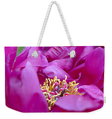 Weekender Tote Bag featuring the photograph Floral Melody #1 by Ahma's Garden