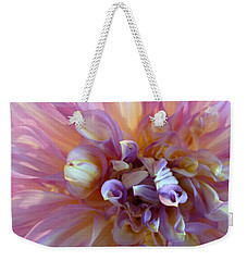 Weekender Tote Bag featuring the photograph Floral Melody #3 by Ahma's Garden