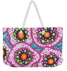 Floral Whimsy 10 Weekender Tote Bag