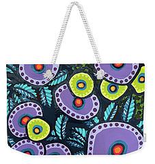 Floral Whimsy 12 Weekender Tote Bag