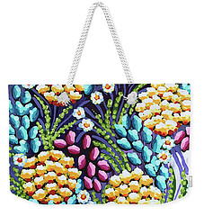 Floral Whimsy 2 Weekender Tote Bag