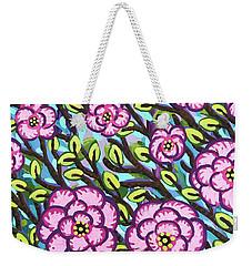Floral Whimsy 3 Weekender Tote Bag