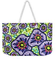 Floral Whimsy 4 Weekender Tote Bag