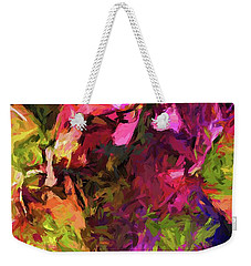 Flower Colour Love 1 Weekender Tote Bag