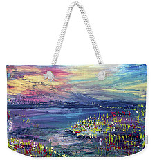 Flower Feilds Weekender Tote Bag