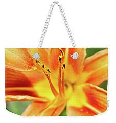 Flower Pollen Weekender Tote Bag