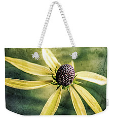Weekender Tote Bag featuring the photograph Flower Texture by Michael Arend
