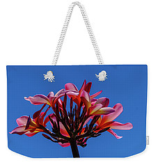 Flowers In Clear Blue Sky Weekender Tote Bag