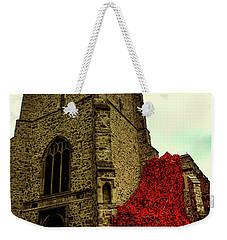 Flowing Poppies Weekender Tote Bag