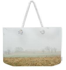 Foggy Country Morning Weekender Tote Bag