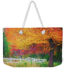 Foliage By The Farm Weekender Tote Bag
