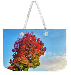 Weekender Tote Bag featuring the photograph Foliage In Flanders by Fabrizio Troiani