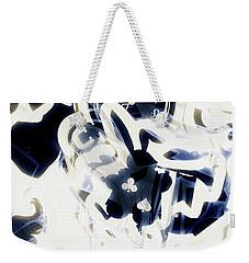 Follow The Blue Rabbit Weekender Tote Bag