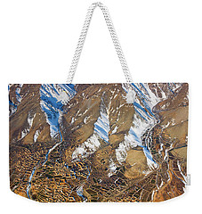 Weekender Tote Bag featuring the photograph Foothill Settlements by SR Green