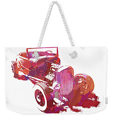 Ford Flathead Roadster Two Pop Weekender Tote Bag