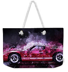 Ford Gt 40 Night Moves Weekender Tote Bag