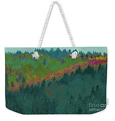 Forest And Valley Weekender Tote Bag