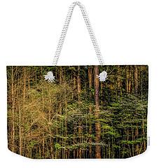 Forest Dogwood Weekender Tote Bag