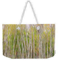Weekender Tote Bag featuring the photograph Forest Twist And Turns In Motion by James BO Insogna