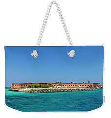 Weekender Tote Bag featuring the photograph Fort Jefferson, Dry Tortugas National Park by Kay Brewer