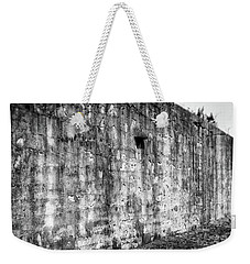 Weekender Tote Bag featuring the photograph Fortification by Steve Stanger