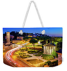 Weekender Tote Bag featuring the photograph Forum Boarium by Fabrizio Troiani