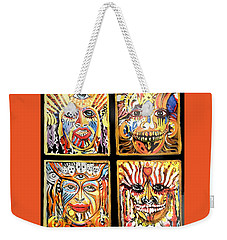 Four Happiness Weekender Tote Bag