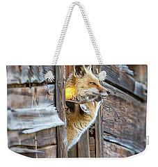 Fox Test  Weekender Tote Bag