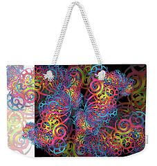 Fractal Illusion Weekender Tote Bag