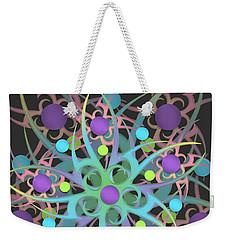 Fractal Mandala Weekender Tote Bag