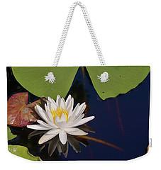 Fragrant Water Lily Weekender Tote Bag