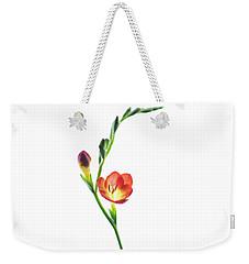Freesia 2 Weekender Tote Bag