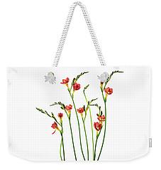 Freesia 3 Weekender Tote Bag
