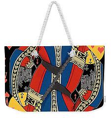 French Playing Card - Lahire, Valet De Coeur, Jack Of Hearts Pop Art - #2 Weekender Tote Bag
