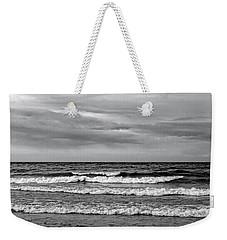 Fresh Water Black And White Weekender Tote Bag