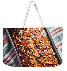 Freshly Baked Banana Bread Weekender Tote Bag