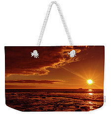 Friday Sunset Weekender Tote Bag